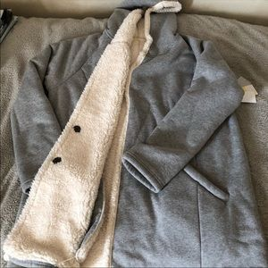 Nordstrom Sherpa Lined Coat